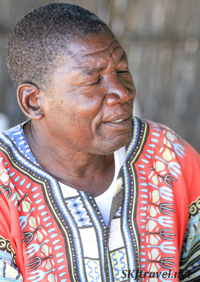 Chief Joseph, Kake Village, Kavango East, Namibia.