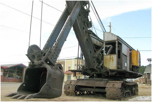 Bucyrus 50-B at the Nederland Mining Museum, Colorado