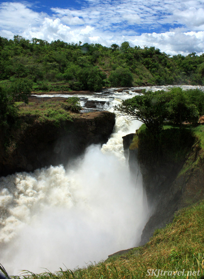 Murchison Falls on the Nile River, Uganda.