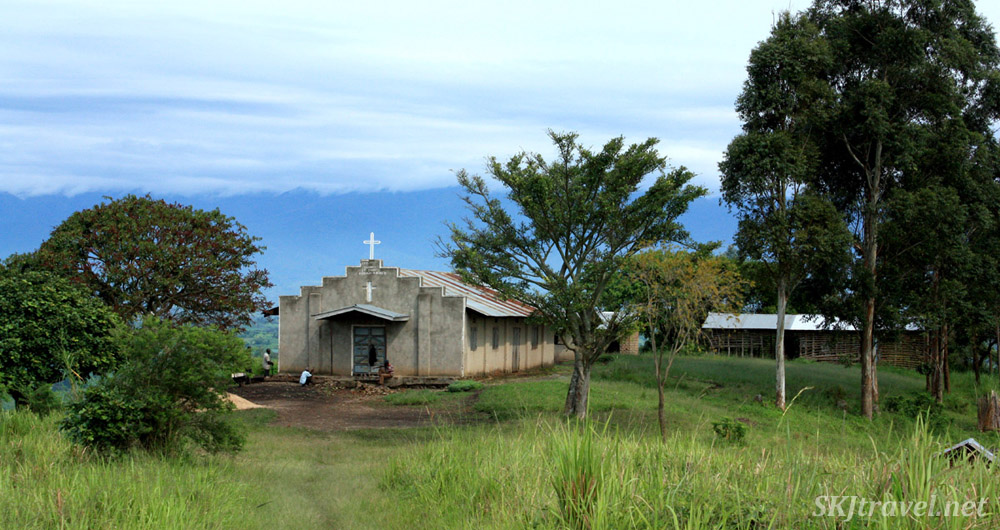 Church near Fort Portal, Uganda.