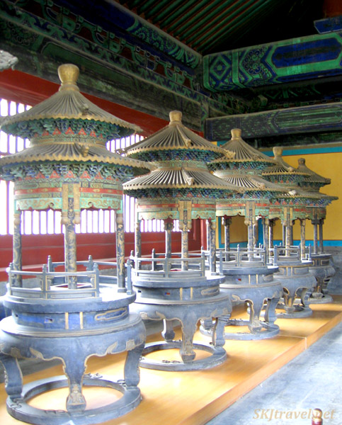 A room for sacrificial preparations for a ceremony, Temple of Heaven, Beijing.