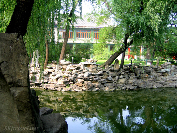 Canal running past Soong Ching Ling's residence in Beijing.