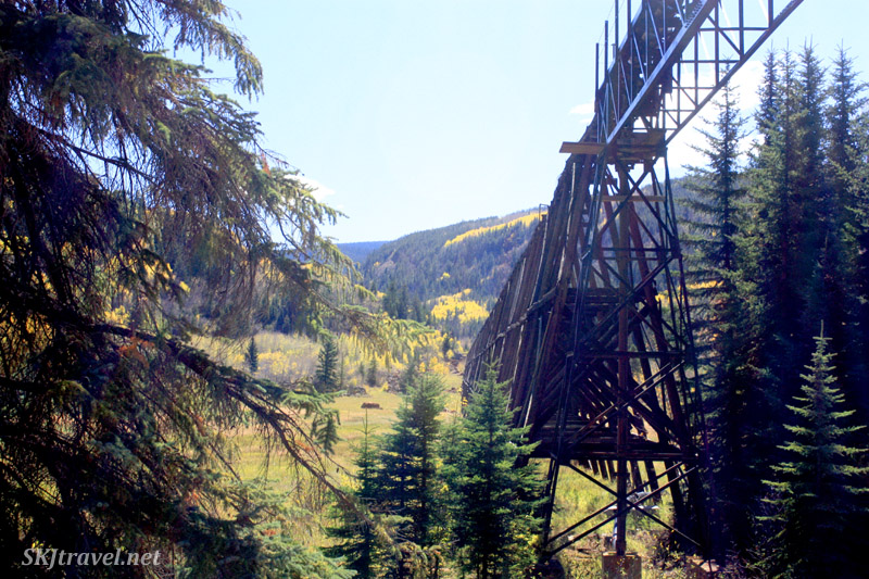 In the valley below Gilman, just outside Minturn, Colorado.