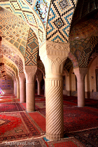 Mosque in Shiraz, Iran.