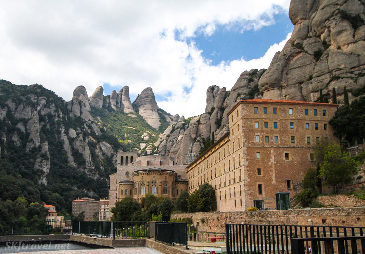 Monastery at Montserrat, Spain.