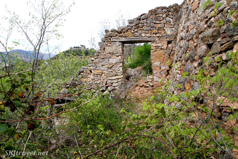 Ruins at Castellar de Tost between La Seu d'Urgell, Spain, and the border of Andorra.
