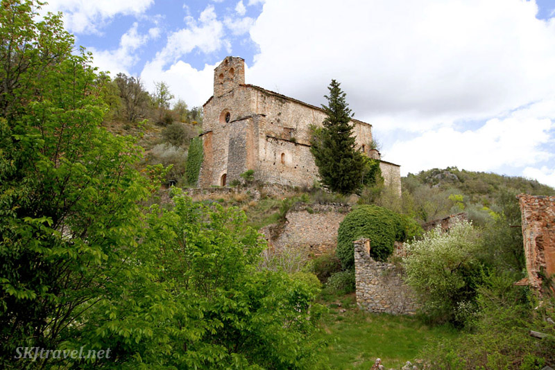 Castellar de Tost between La Seu d'Urgell, Spain, and the border of Andorra.