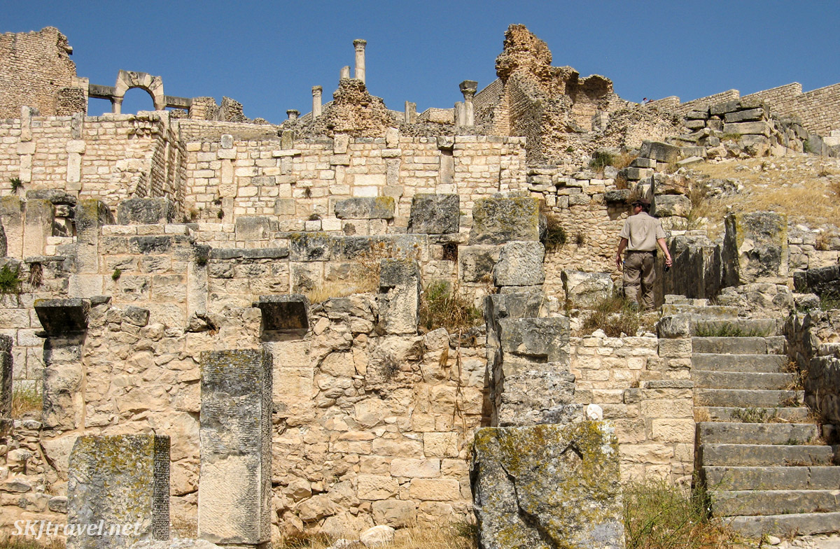 UNESCO World Heritage Site, Dougga, Tunisia.