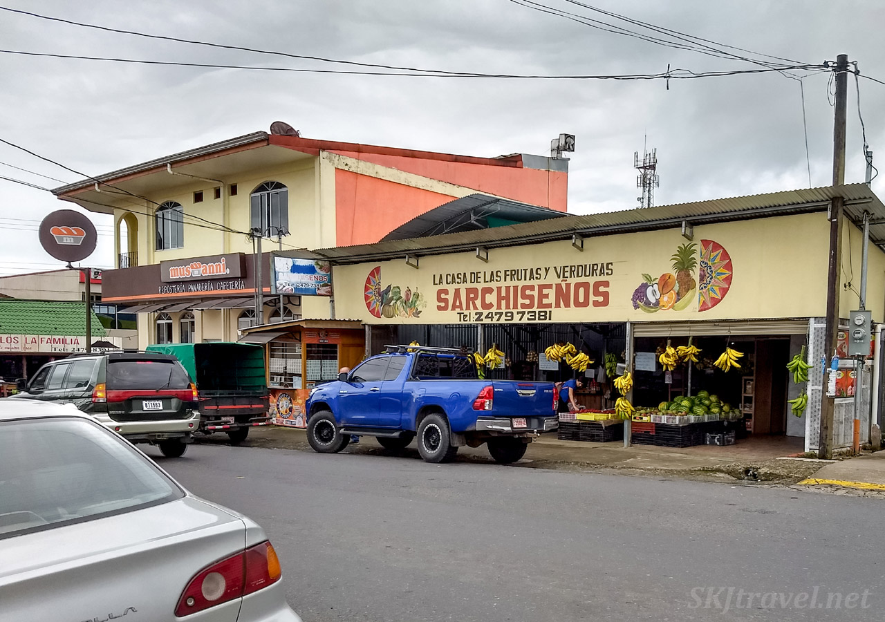 Downtown La Fortuna, Costa Rica.