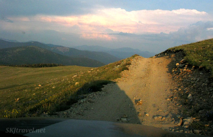 Kingston Peak 4x4 route, Colorado.