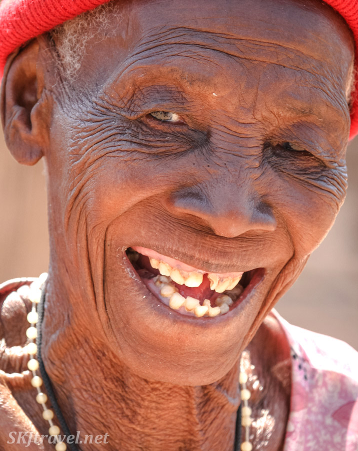Granny Sabina near Divundu in the Kavango region of Namibia. African portraiture, Kavango, Namibia.