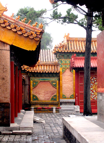 Inside the Inner Courtyard in the Forbidden City, Beijing.
