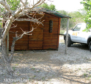tourist cabin accommodations at Sodwana bay