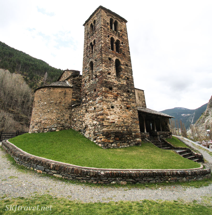 Sant Joan de Caselles Church, Canillo, Andorra.