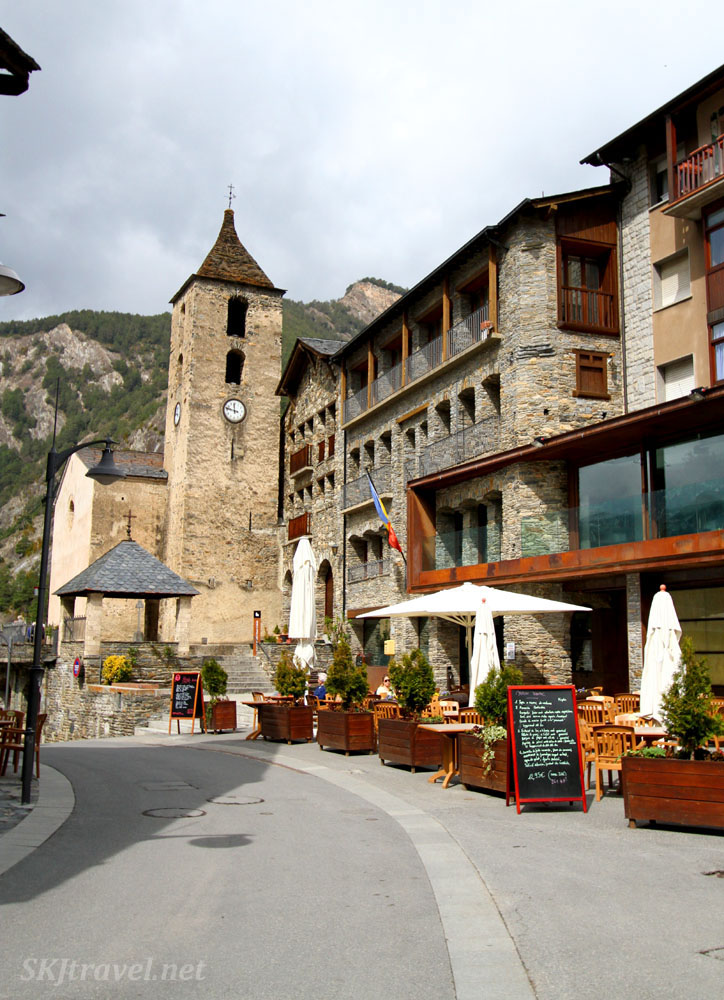 Saint Corneli and Saint Cebria Church, Ordino, Andorra.