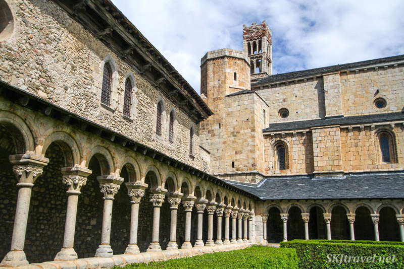 Abbey at the church of La Seu d'Urgell, Spain.