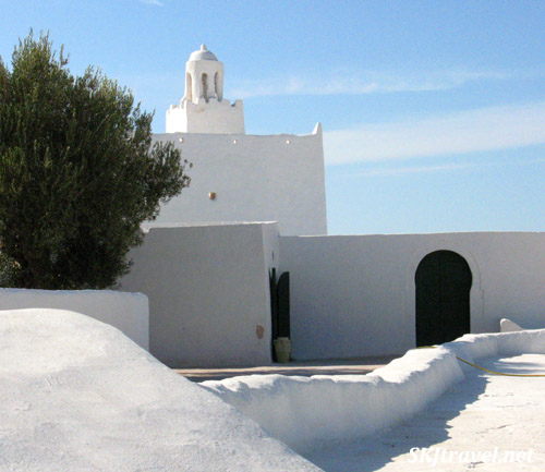 Old town of Djerba Island, Tunisia.