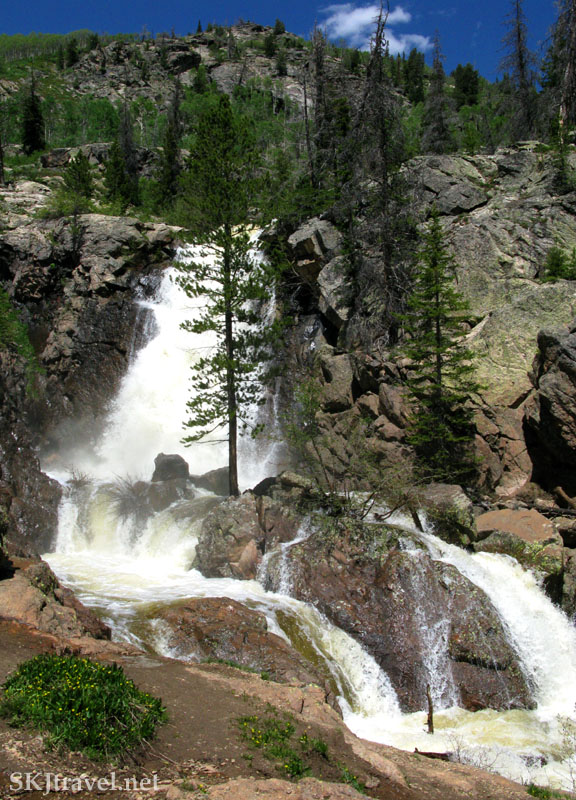 Upper Fish Creek Falls, Steamboat Springs, Colorado.